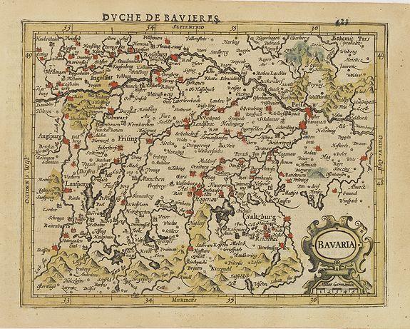MERCATOR, G. / HONDIUS, J. -  Bavaria.