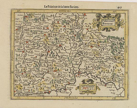 MERCATOR, G. / HONDIUS, J. -  Palatinat. Bavariae.