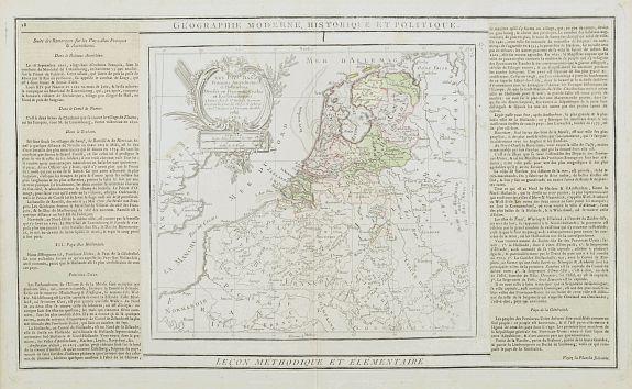 DESNOS / BRION -  Les Pays Bas François, Autrichiens, et Hollandois..