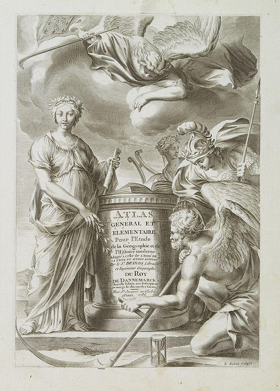 DESNOS / BRION -  [Frontispiece] Atlas Général et Elémentaire Pour l'Etude de la Géographie et de l'Histoire moderne..