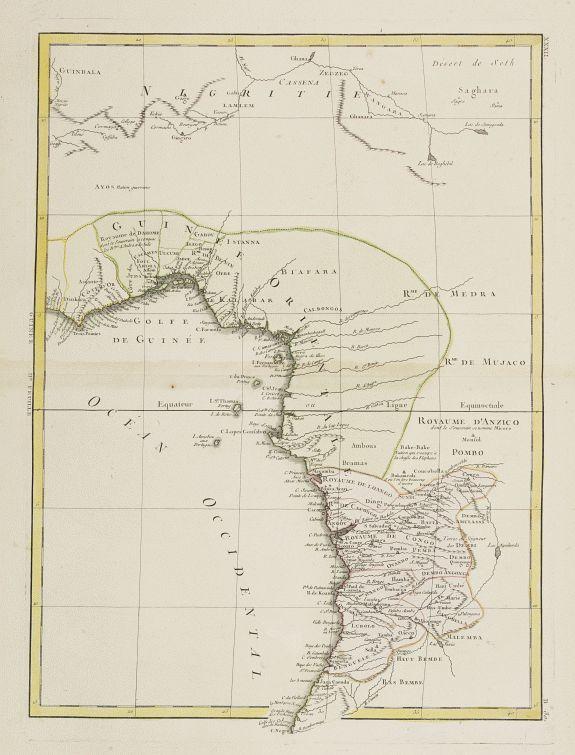 LATTRÉ / BONNE,R. -  [No title] Central Africa.