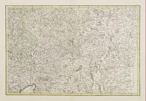 LATTRÉ / ZANNONI, R. -  [No title] Part of Eastern Europe, including Poland, the Czech Republic, Slovakia and Slovenia.