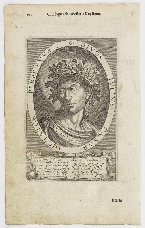 DE CLERCK, N. -  Divos Iulius Caesar Dictator Perpetuus.
