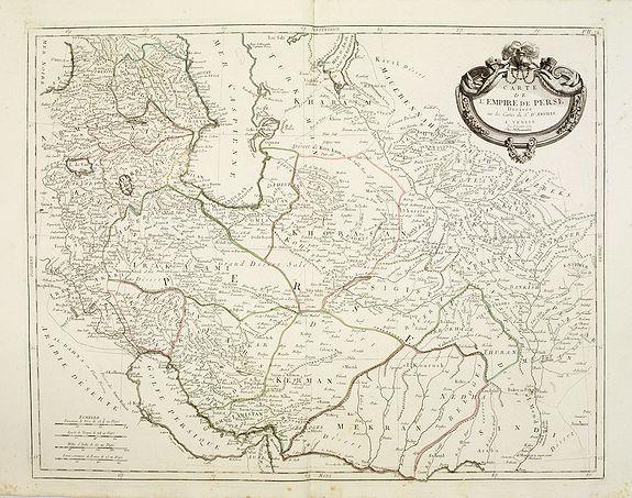SANTINI, P. / REMONDINI, M. -  Carte de l'Empire de Perse..