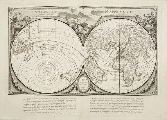 SANTINI, P. / REMONDINI, M. -  Nouvelle Mappa Monde.