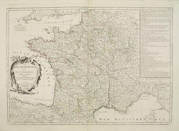 SANTINI,P. / REMONDINI,M. -  Le Royaume de France..