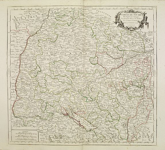 SANTINI, P. / REMONDINI, M. -  Cercle de Souabe.. les enclaves de la Maison d'Autriche.