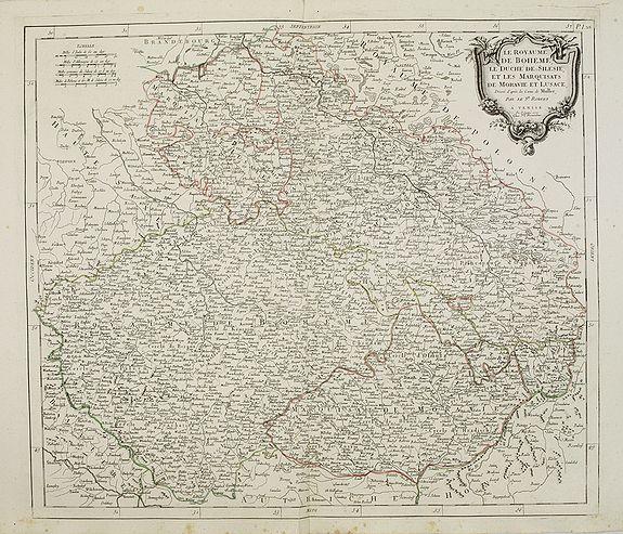 SANTINI, P. / REMONDINI, M. -  Le Royaume de Boheme..  Moravie et Lusace.