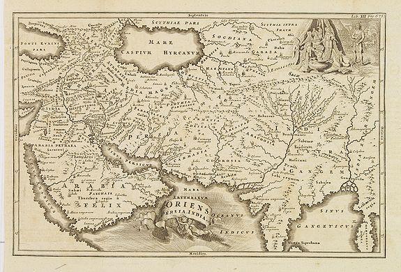 CELLARIUS, Chr. -  Oriens, Persia, India etc.