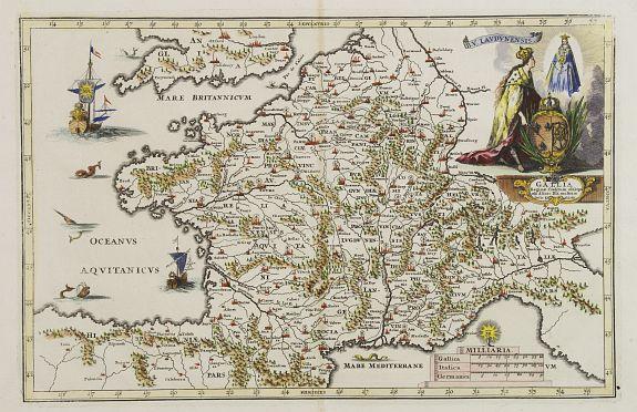 BACHIENE, W.A. -  Afbeelding van all de Landen gelegen tusschen de Middellandsche, Zwarte, Caspische, Persische en Rode Zeën.