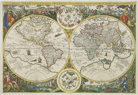 VRIENTS, J.B. / PLANCIUS, P. - Orbis terrae compendiosa descriptio. . .