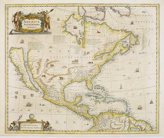 JANSSONIUS, J. -  America Septentrionalis.