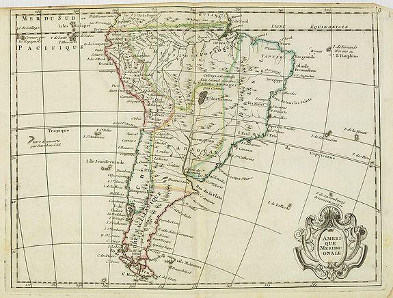 LE ROUGE, G.L. -  L''Amerique méridionale.