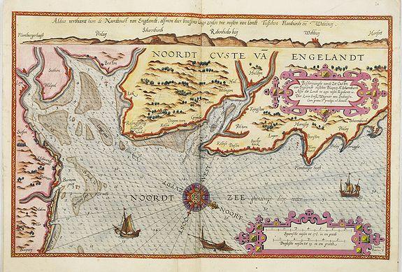WAGHENAER, L. J. -  Belchrijuinghe vande zee custen van Engelandt. . .