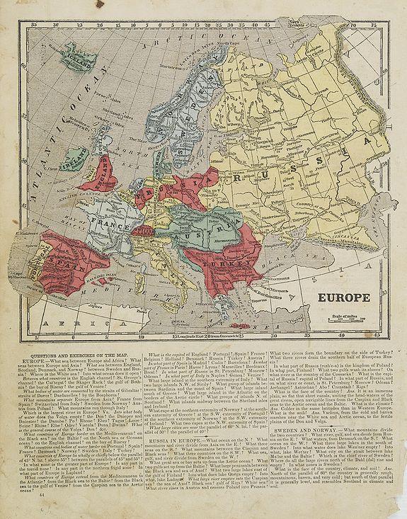 MORSE, S.E. -  Europe.