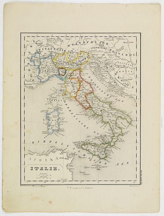 SCHOLTENS, A.L. -  Italie.