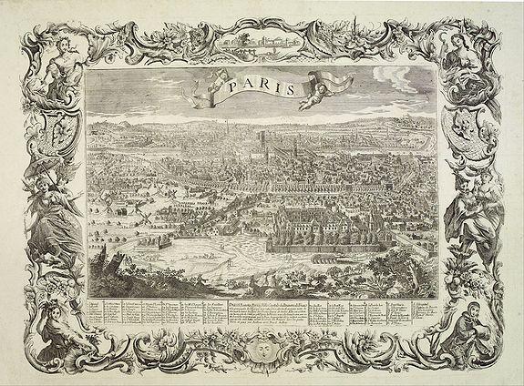 AVELINE, P. -  Paris, Lutetia, Parisii, Ville Capitale du Royaume de France.