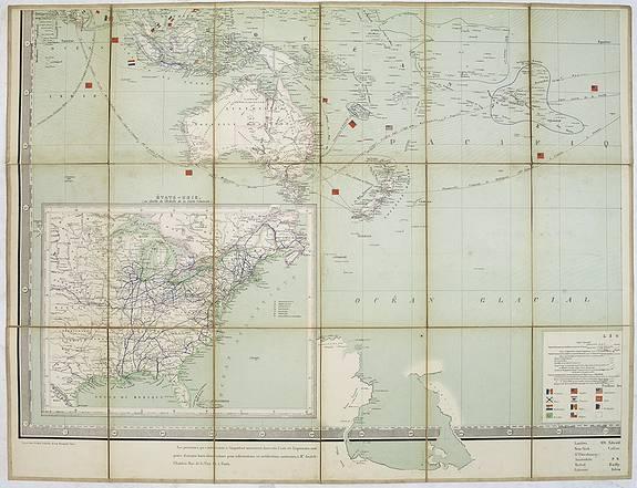 Depôt DE LA GUERRE. -  [Oceanie and Untitled States].