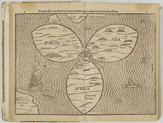 B�NTING, H. -  Itinerarium Sacrae Scripturae. Das ist: Ein Reisebuch uber die gantze heilige Schrifft. Zuvor gemehret mit einem B�chlein De monetis et mensuris. . .