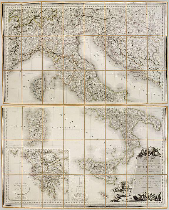ORGIAZZI, J. A.. -  Carte Statistique, Politique, et Minéralogique de l