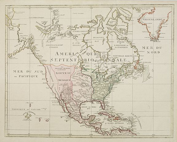WALCH, J.,  [North America], antique map, old maps