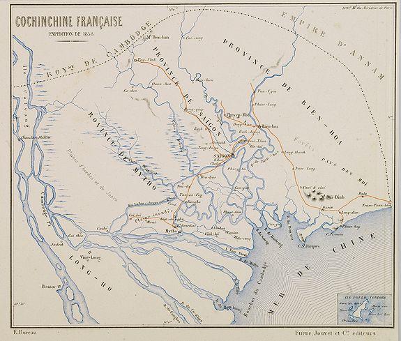 BUREAU, E. -  Cochinchine Française Expedition de 1858.