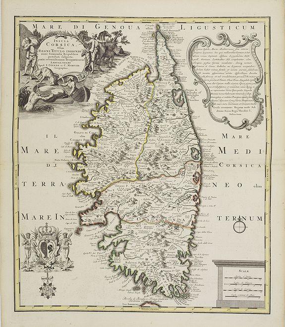 COVENS, J. / MORTIER, C. -  Insula Corsica, Olim Rehni Titulo Insignis . . . .