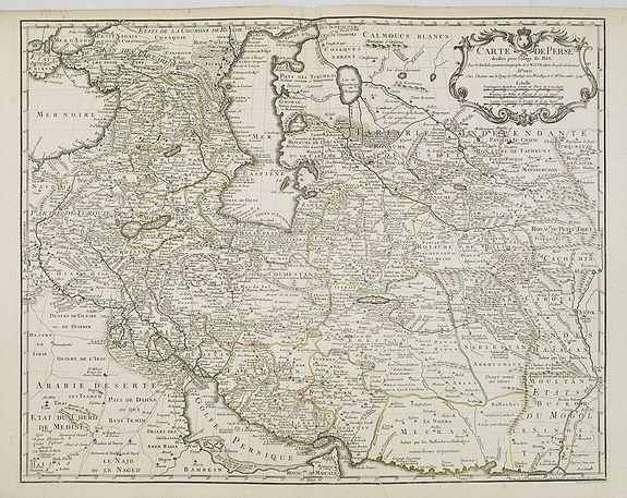 DELISLE, G. / BUACHE, Ph. - Carte de Perse dressée pour l'usage du Roy. . .