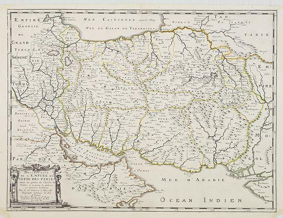 SANSON, N. / MARIETTE, Pierre. -  Description de l'Empire du Sophi des Perses. . .