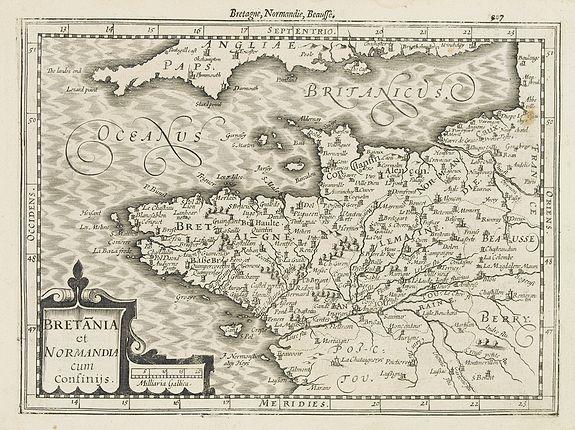 MERCATOR, G. / CLOPPENBURG. -  Bretania et Normandia. . .