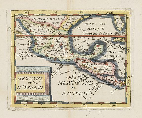 DU VAL, P. -  Mexique ou le N.Espagne.