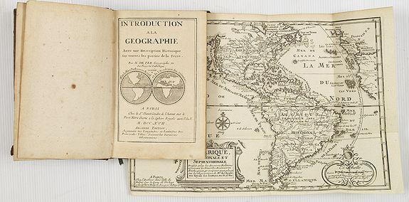 DE FER, N. / DANET -  Introduction a la Geographie..