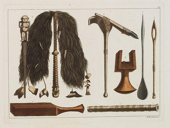 FERRARIO, G. -  [Tahitian tools  ].