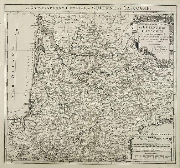 COVENS, J. / MORTIER, C. -  Le Gouvernement General de Guienne et Gascogne. . .