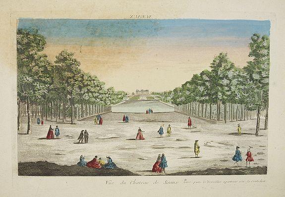 ANONYMOUS -  Vue du Château de Sceaux. . .