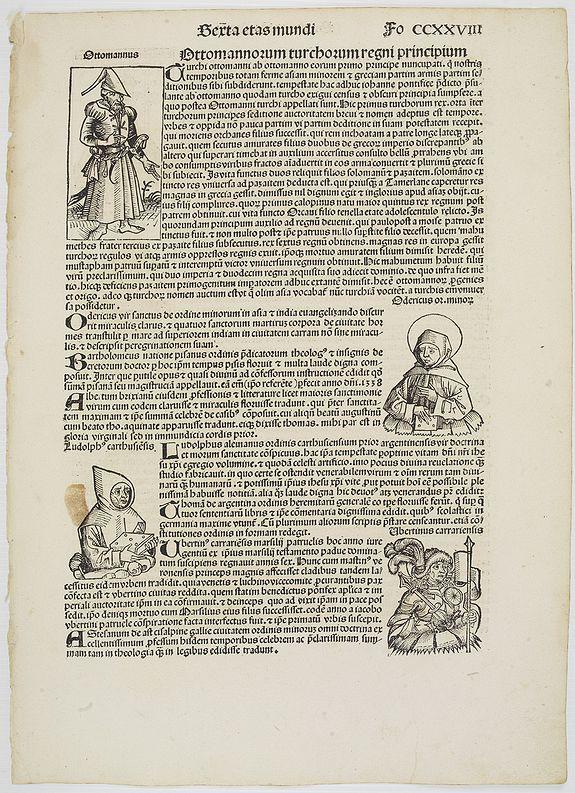 SCHEDEL, H. -  [Sexta Etas Mundi. Fo CCXXVIII].