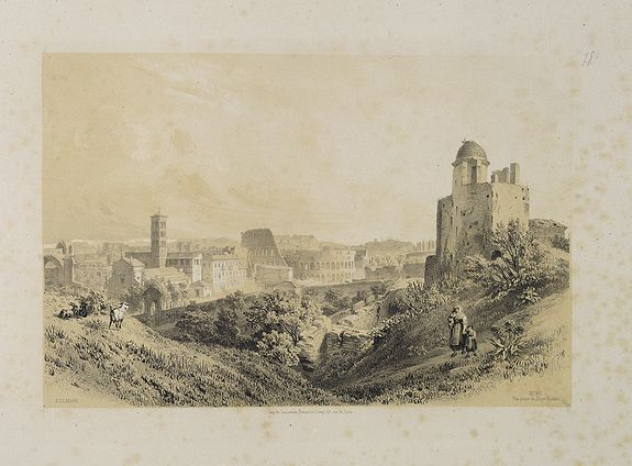 BILLMARK, C.J. -  Rome. Vue prise du Mont Palatin.