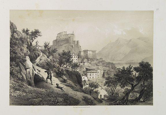 BILLMARK, C.J. -  Subiaco. Environs de Rome.