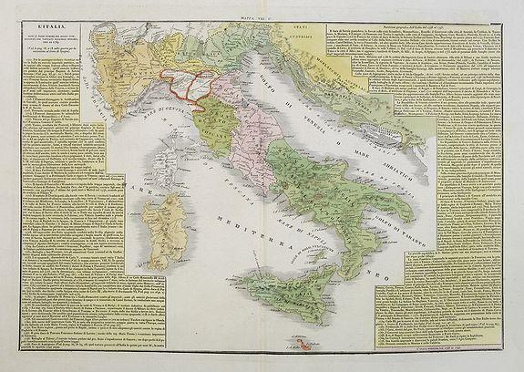 TASSO, G. -  L'Italia dopo le prime guerre del secolo XVIII, eipartita dal vantato equilibrio europeo, sino al 1789.