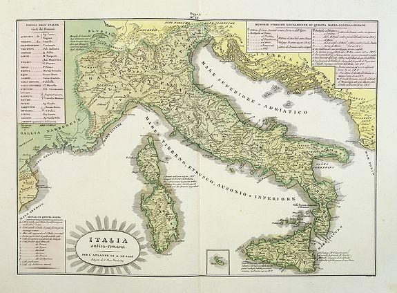 TASSO, G. -  L'Italia antica-romana.