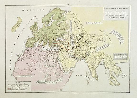 TASSO, G. -  Il mondo cocsciuto dagli antichi e le laggiori antiche monarchie Persiana, Macedone, Romana . . .