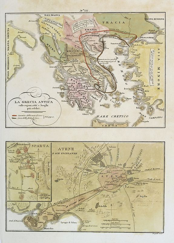 TASSO, G. -  La Grecia Antica . . . / Atene e sue vicinanze . . .