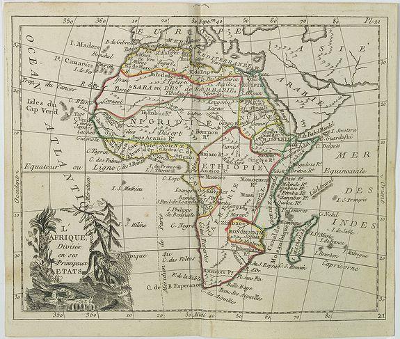 DE LAPORTE, L'Abbé. -  L'Afrique  . . .