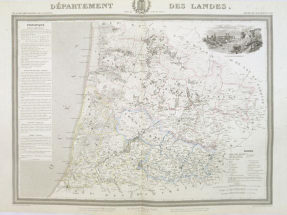 DONNET, A. / FREMIN, A. R. / LEVASSEUR - Département des Landes.