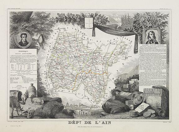 LEVASSEUR, V. -  Dépt. De l'Ain. N°1.