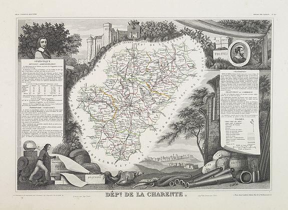 LEVASSEUR, V. -  Dépt. De La Charente. N°13. [ Cognac ]
