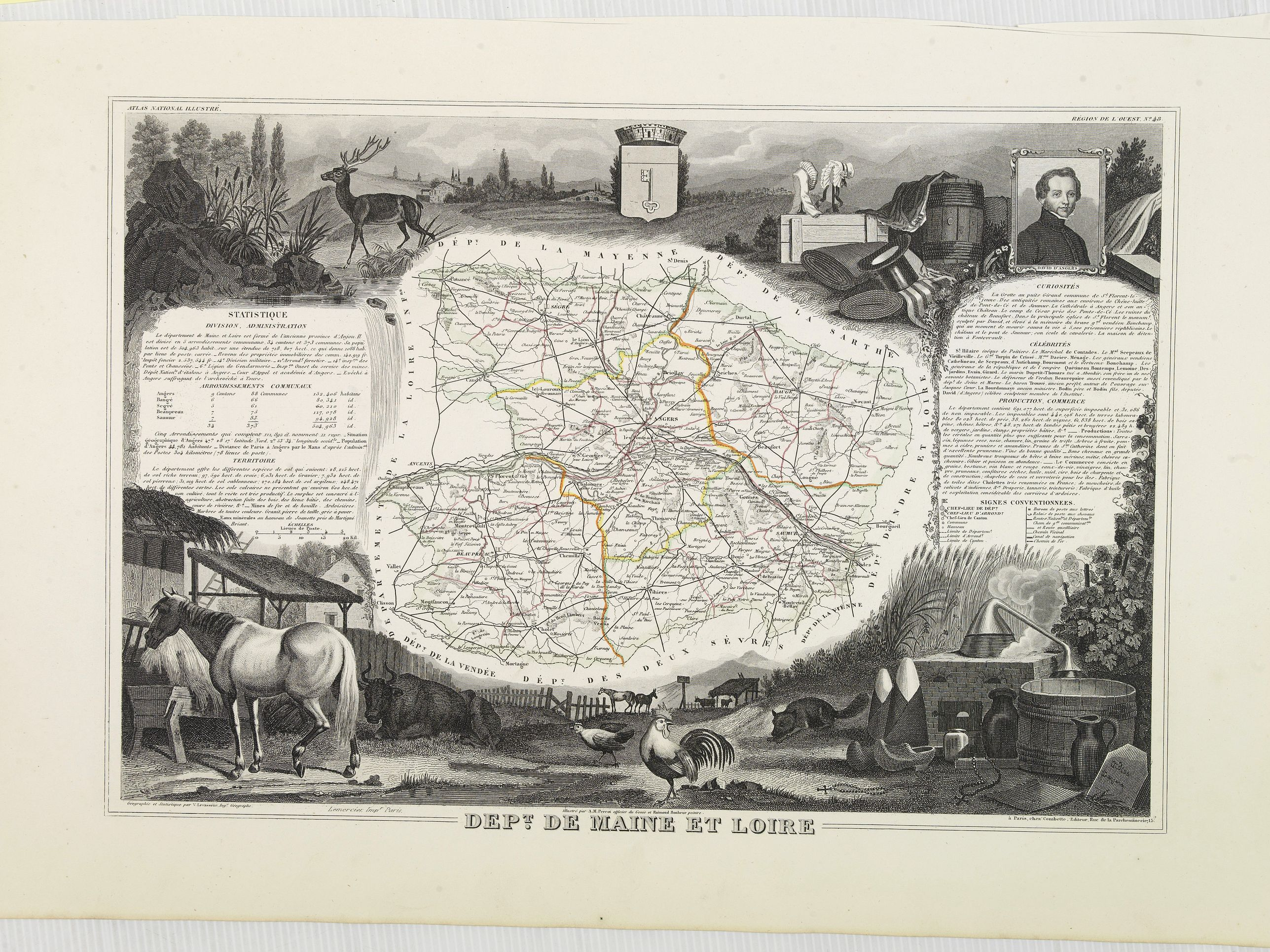 LEVASSEUR, V. -  Dépt. De Maine et Loire. N°48.