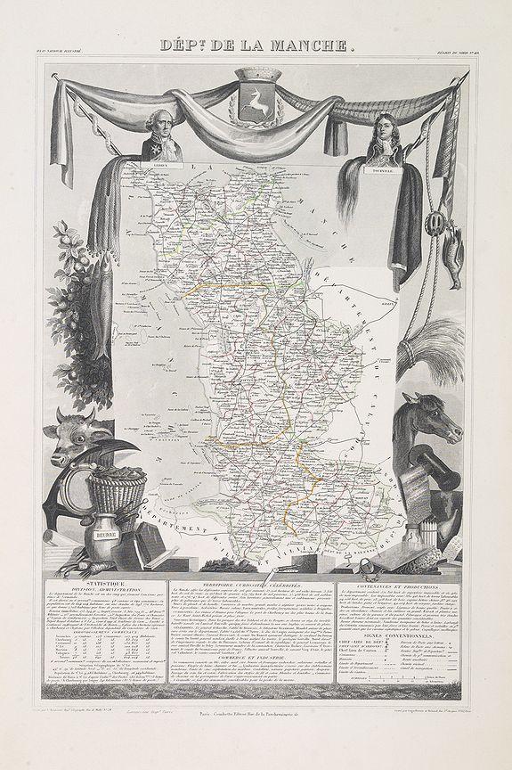 LEVASSEUR, V. -  Dépt. De La Manche. N°49.  [ Cherbourg ]