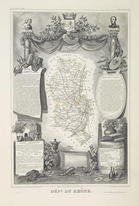 LEVASSEUR, V. -  Dépt. Du Rhône. N°68.  [ Lyon ]