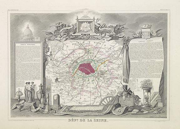 LEVASSEUR, V. -  Dépt. De La Seine. N°72. [ Versailles ]
